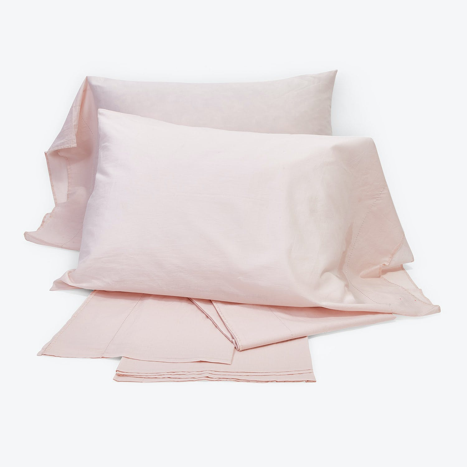 abcdna Mist King Sheet Set Petal