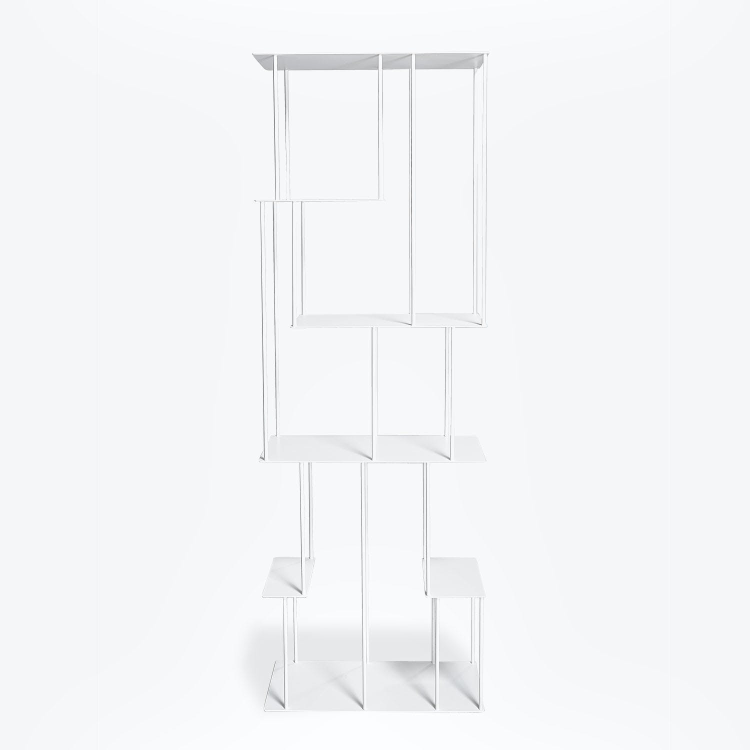 Product Image - Helix Narrow Bookcase White