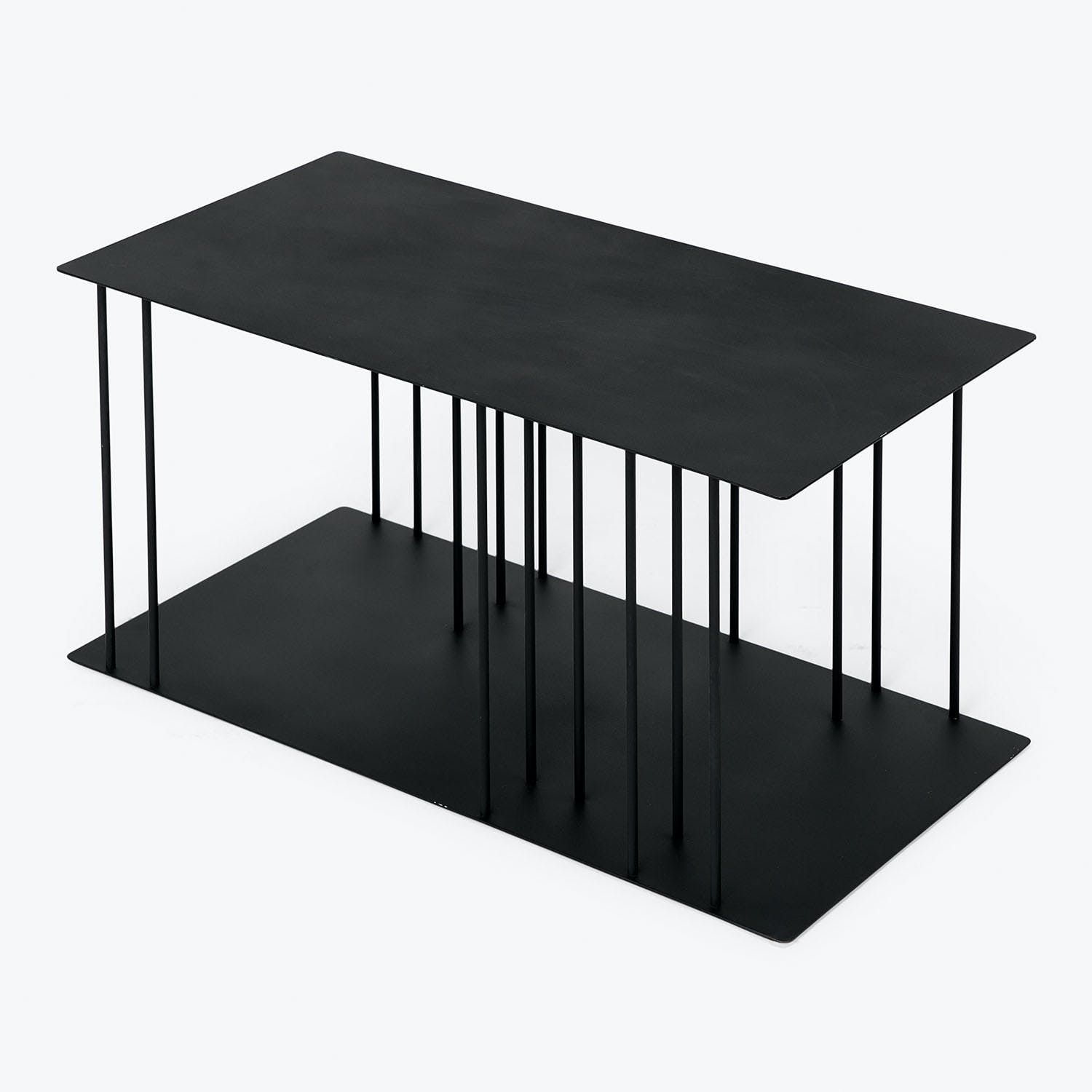 abcDNA Helix Steel Coffee Table Black