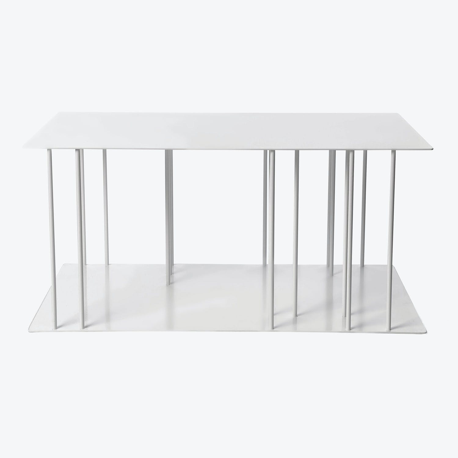 Product Image - Helix Steel Coffee Table White