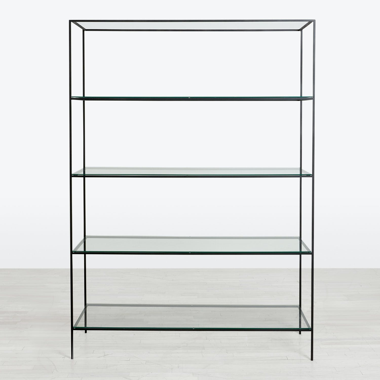 abcDNA Synthesis Glass 5-Tier Wide Shelving