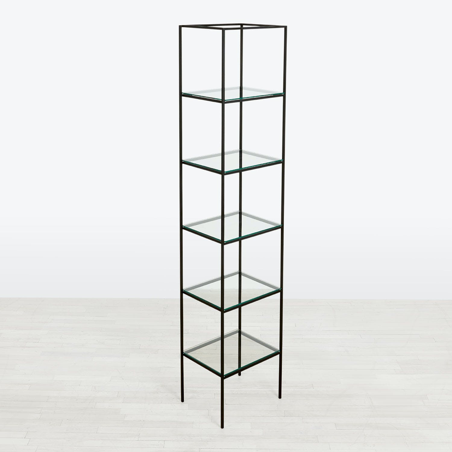 abcDNA Synthesis Glass 6-Tier Narrow Shelving