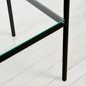 Product Image - Synthesis Glass 6-Tier Narrow Bookcase
