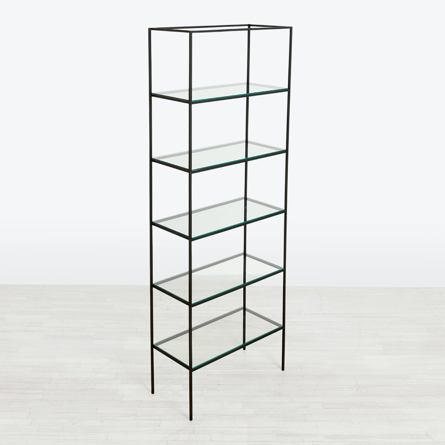 abcDNA Synthesis Glass 6-Tier Wide Shelving