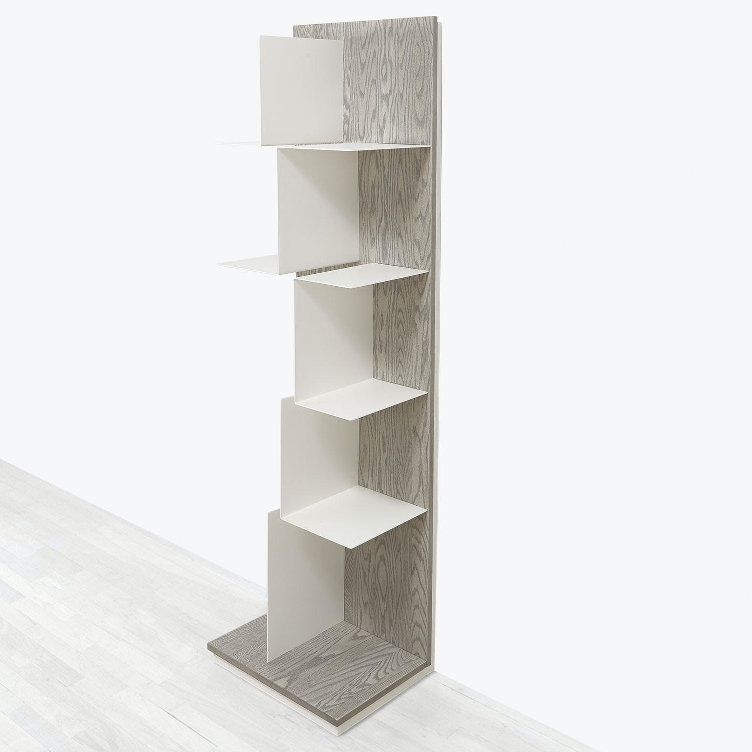Product Image - Gallerist Bookcase Brushed Oak