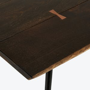 Product Image - Core Dark Oak Dining Table