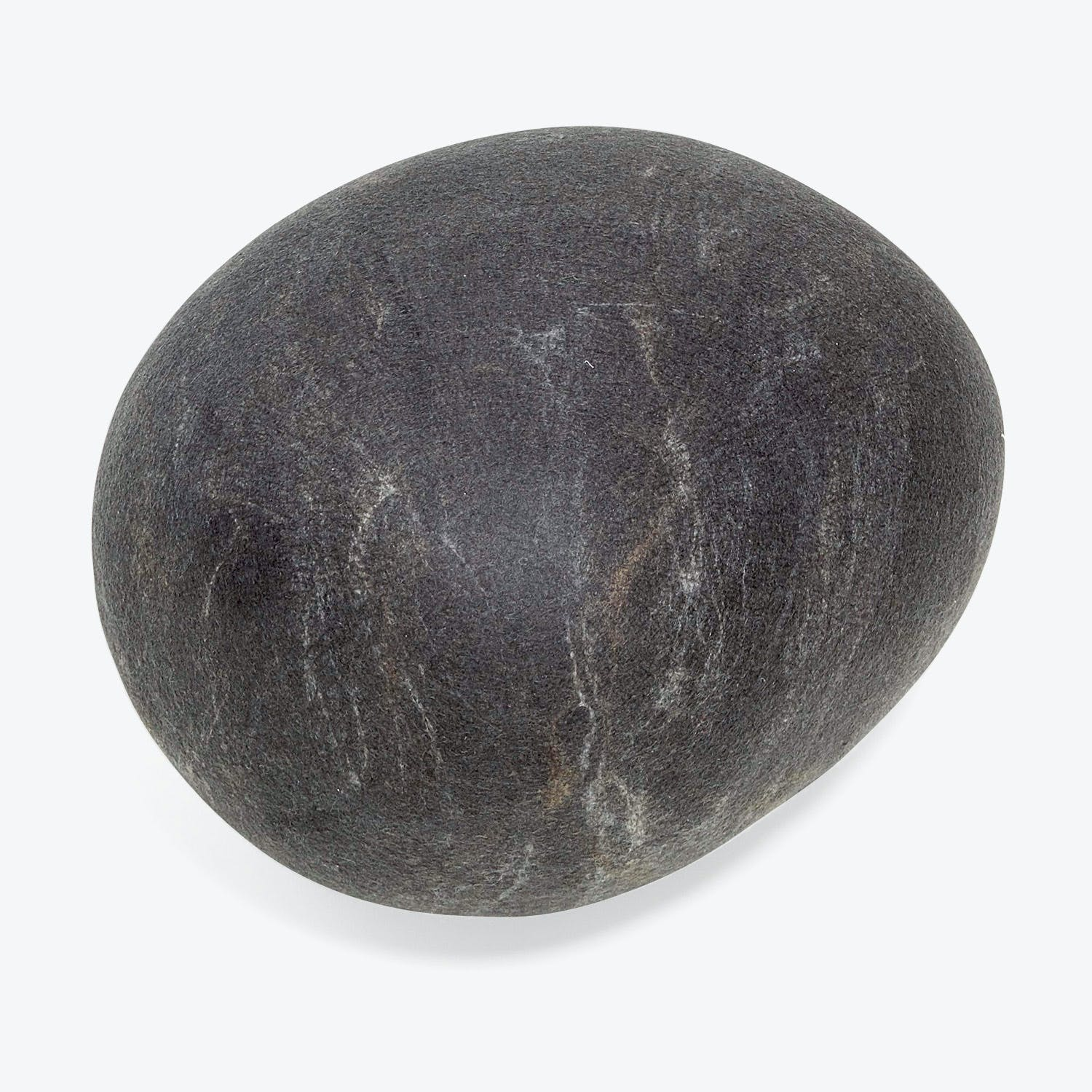Ronel Jordaan Small Felted Rock Cushion Dark Gray