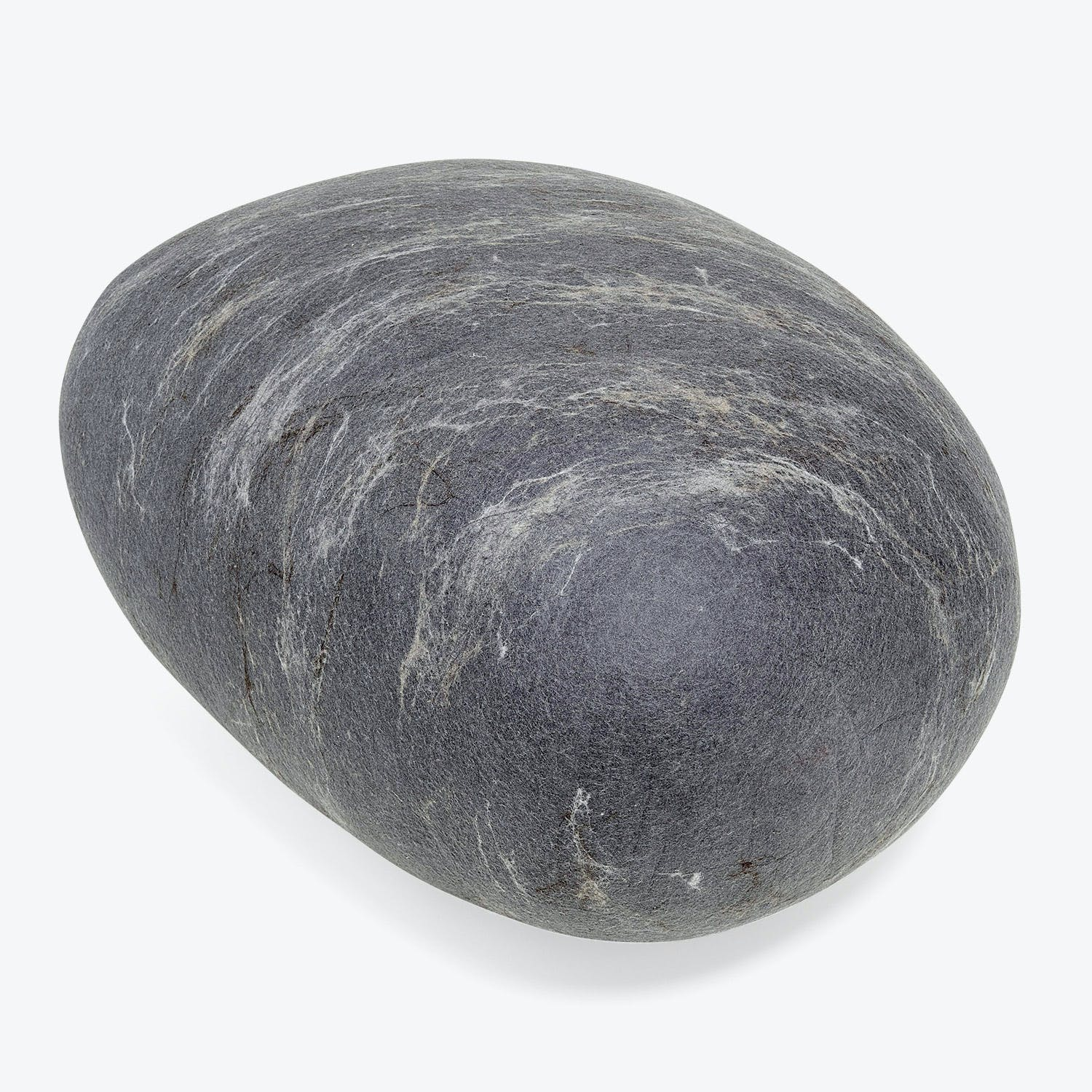 Product Image - Ronel Jordaan Extra Large Felted Rock Cushion Dark Gray