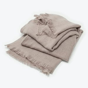 Product Image - Stella Cashmere Throw Rose Ash