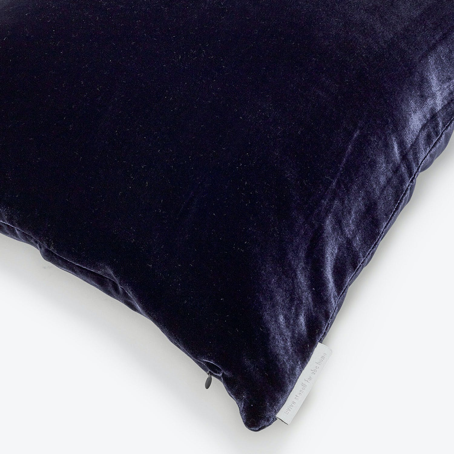 Aviva Stanoff Velvet Pillow Indigo - Medium