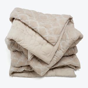 Product Image - Haath Jaali Quilt Dove Gray