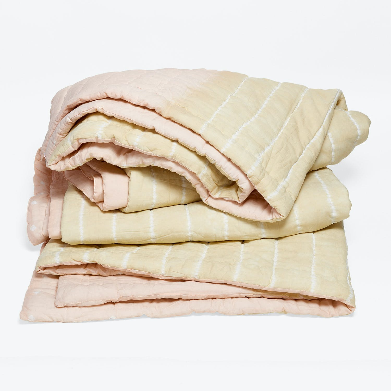 abcDNA Haath Stripe Twin Quilt