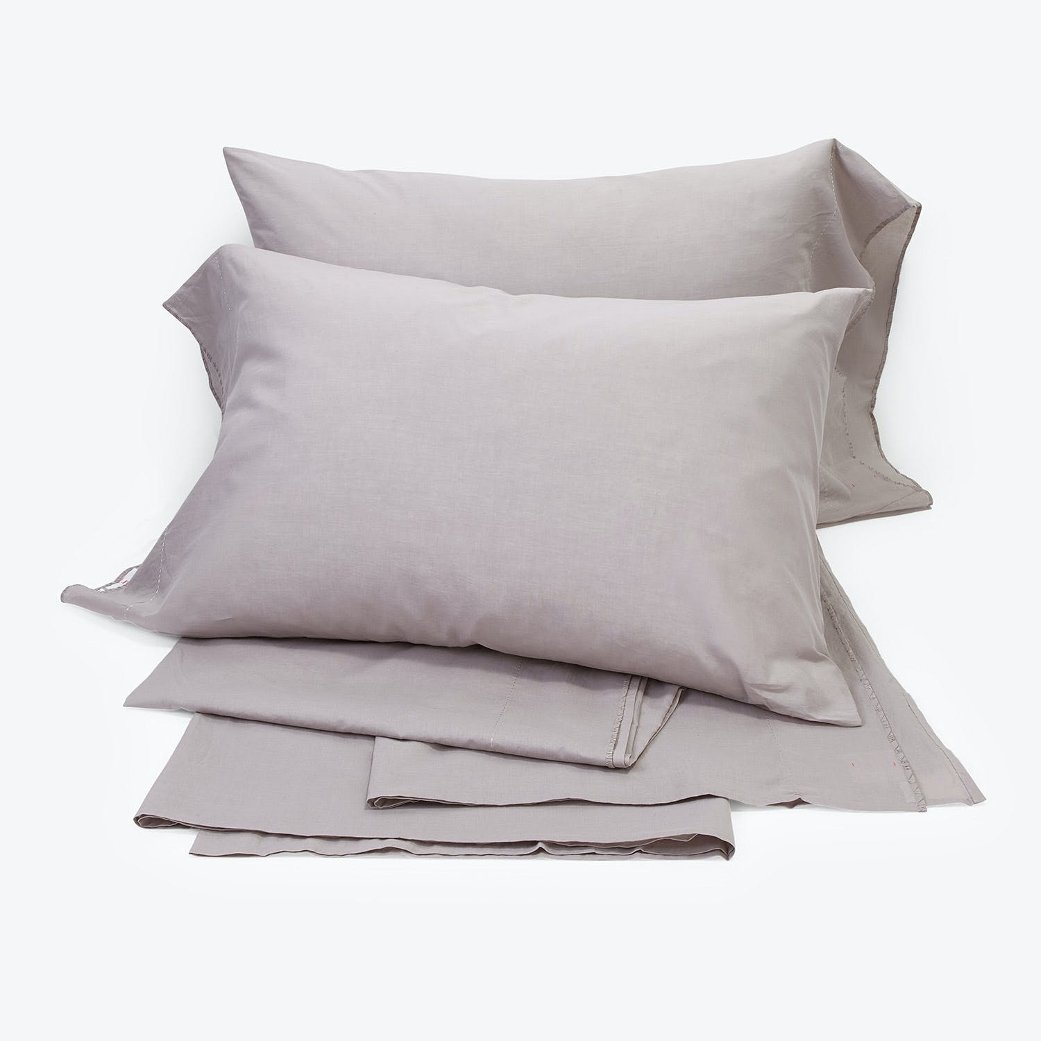 abcdna Mist King Sheet Set Light Gray