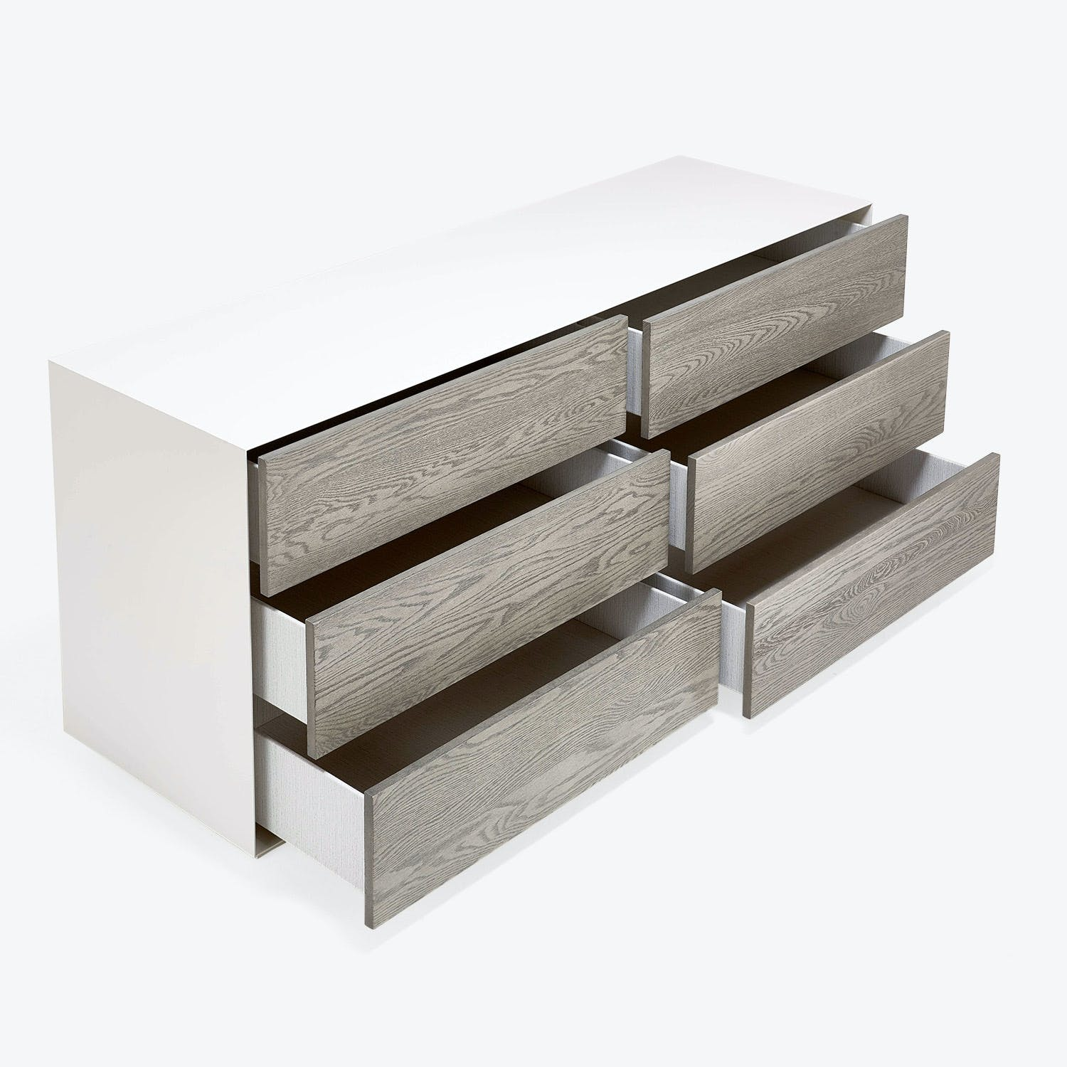 Gallerist QuÔøΩbec Dresser Brushed Oak