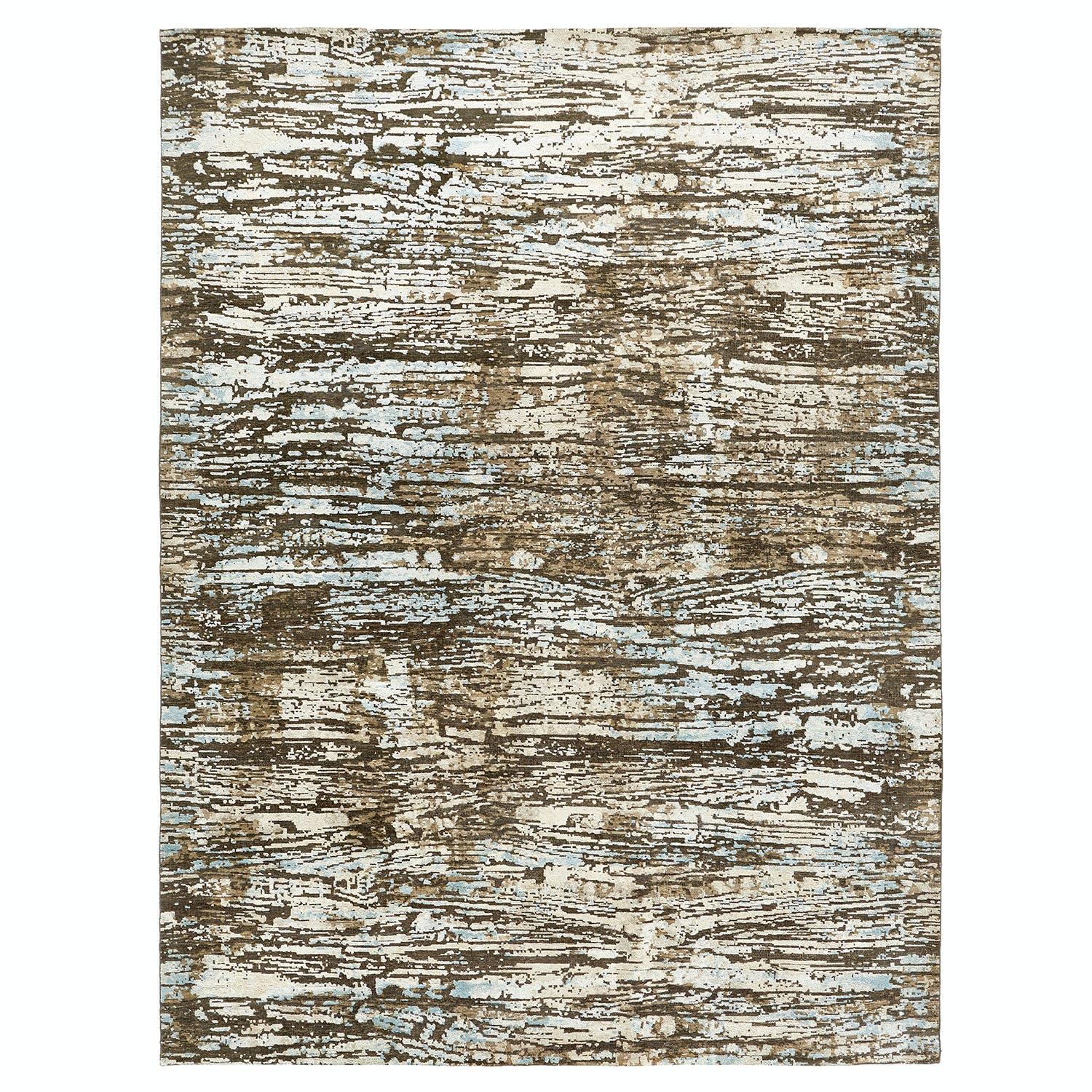 Contemporary Wool Rug - 9'x12'