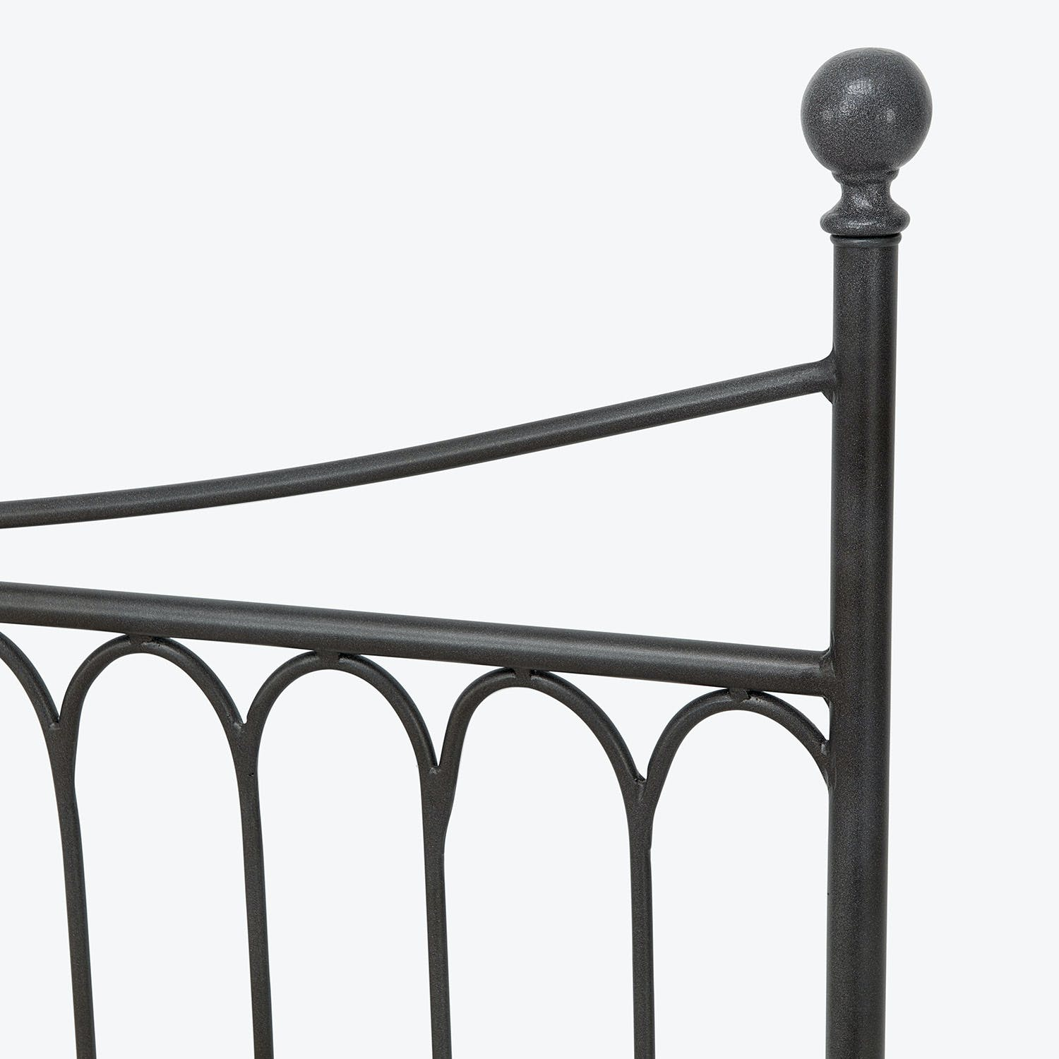 Solido King Bed Black