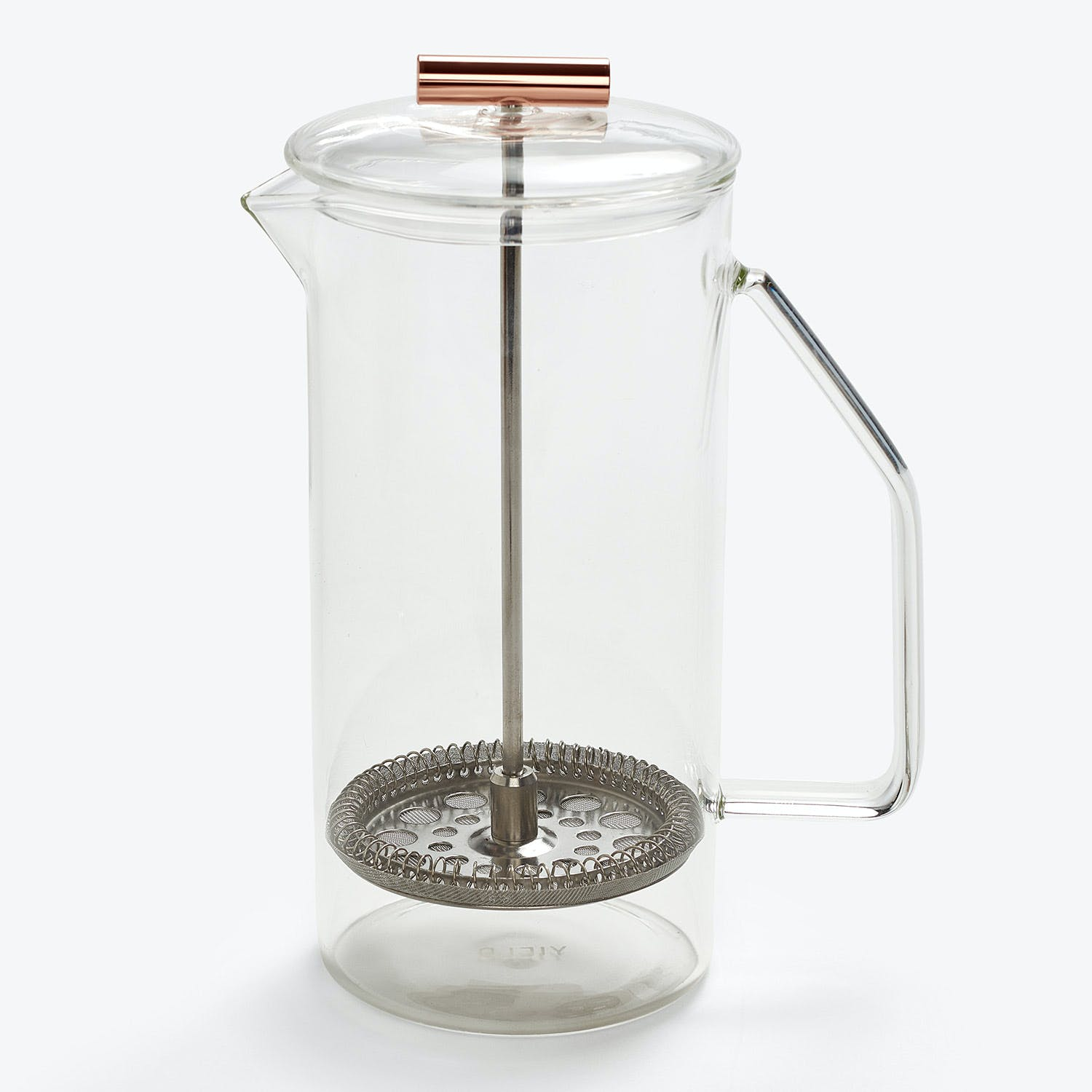 Yield Design Glass French Press Clear