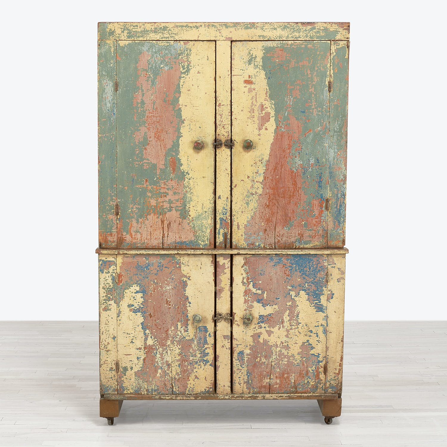 19th Century Hill Country Armoire