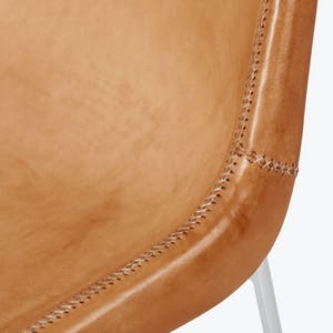 Product Image - Giron Leather Side Chair Natural