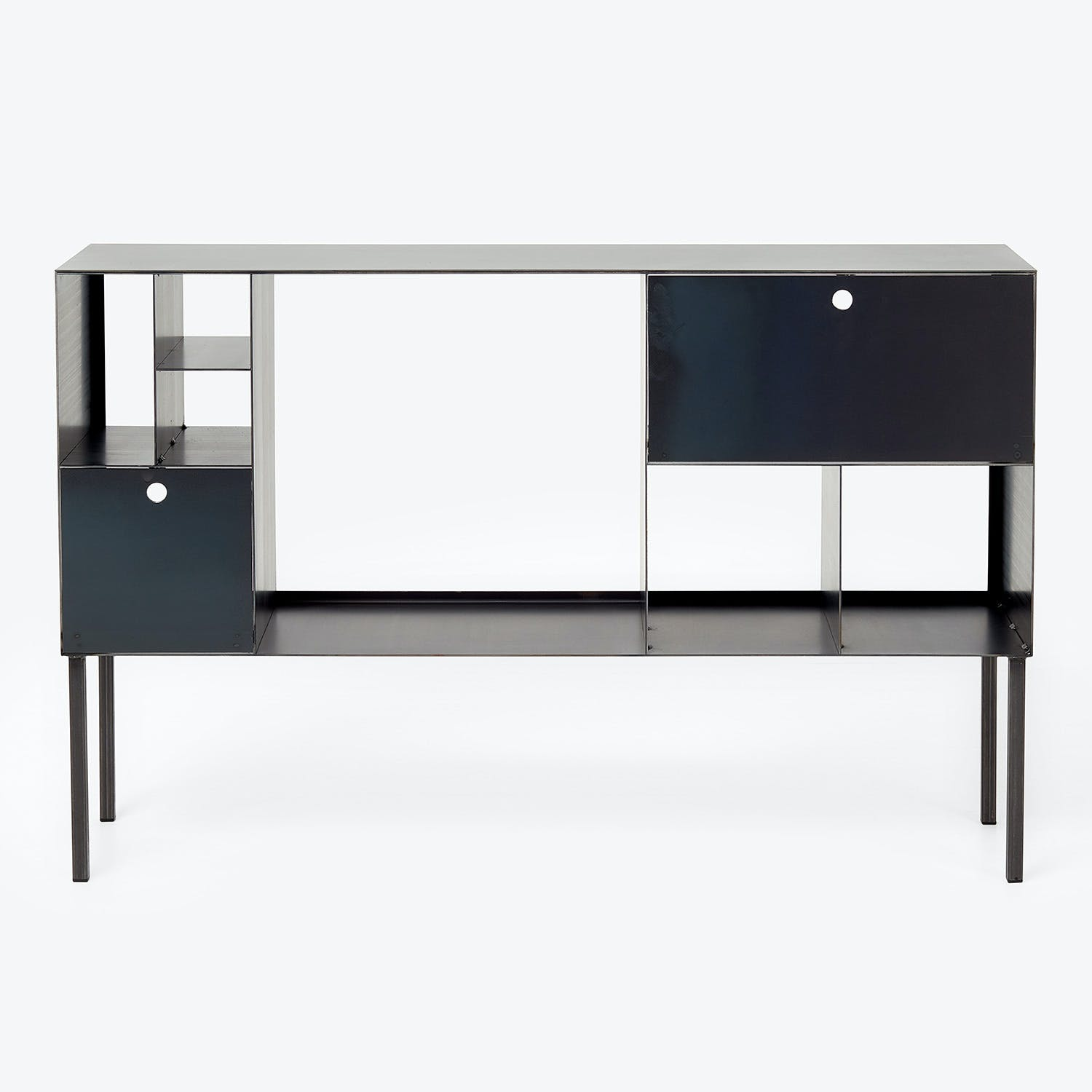 Product Image - Flatiron-Wrought Cubic Steel Console