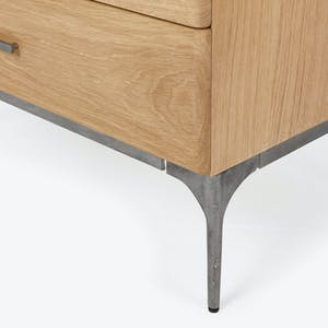 Product Image - Core 5 Drawer Oak Chest
