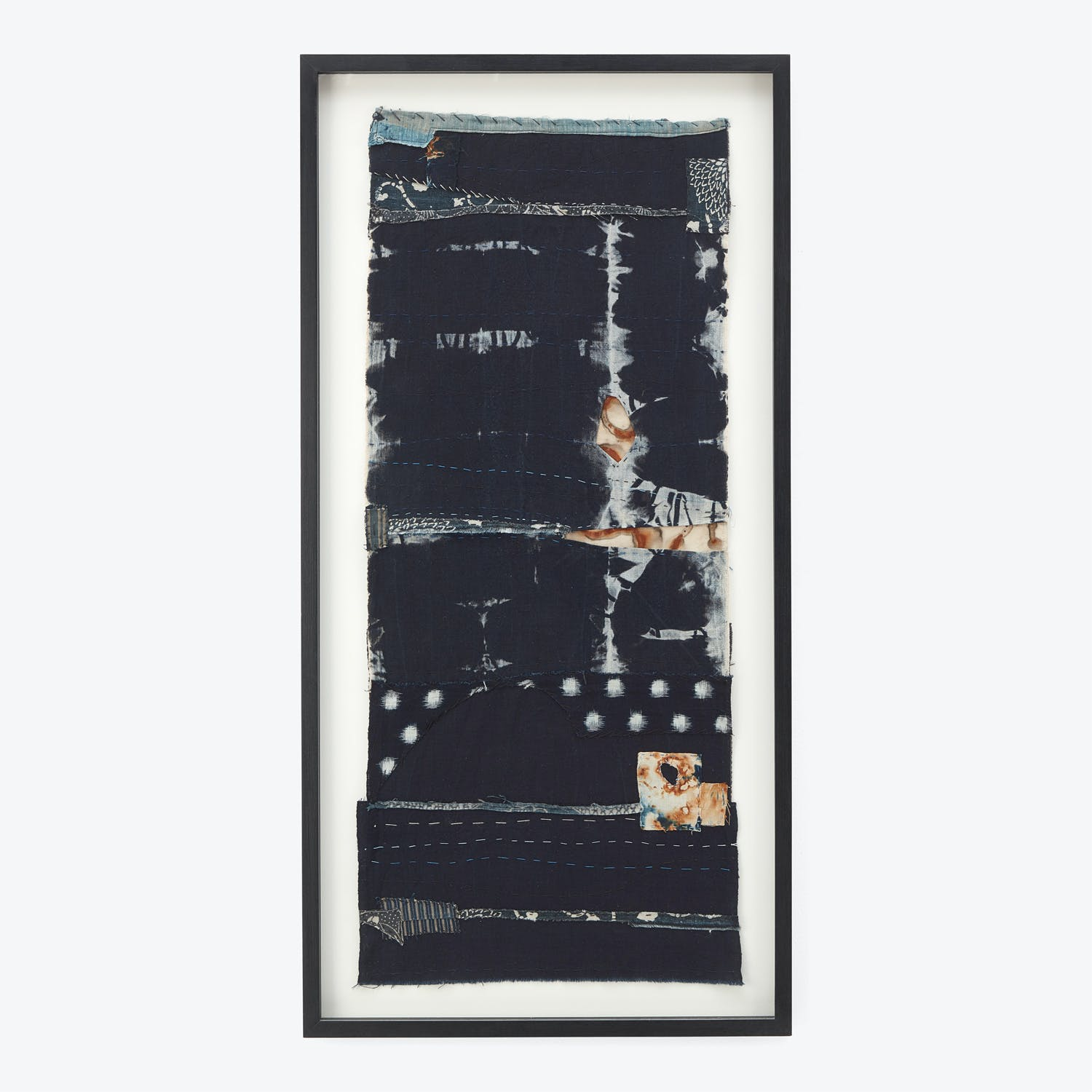 Product Image - Framed Textile Collage