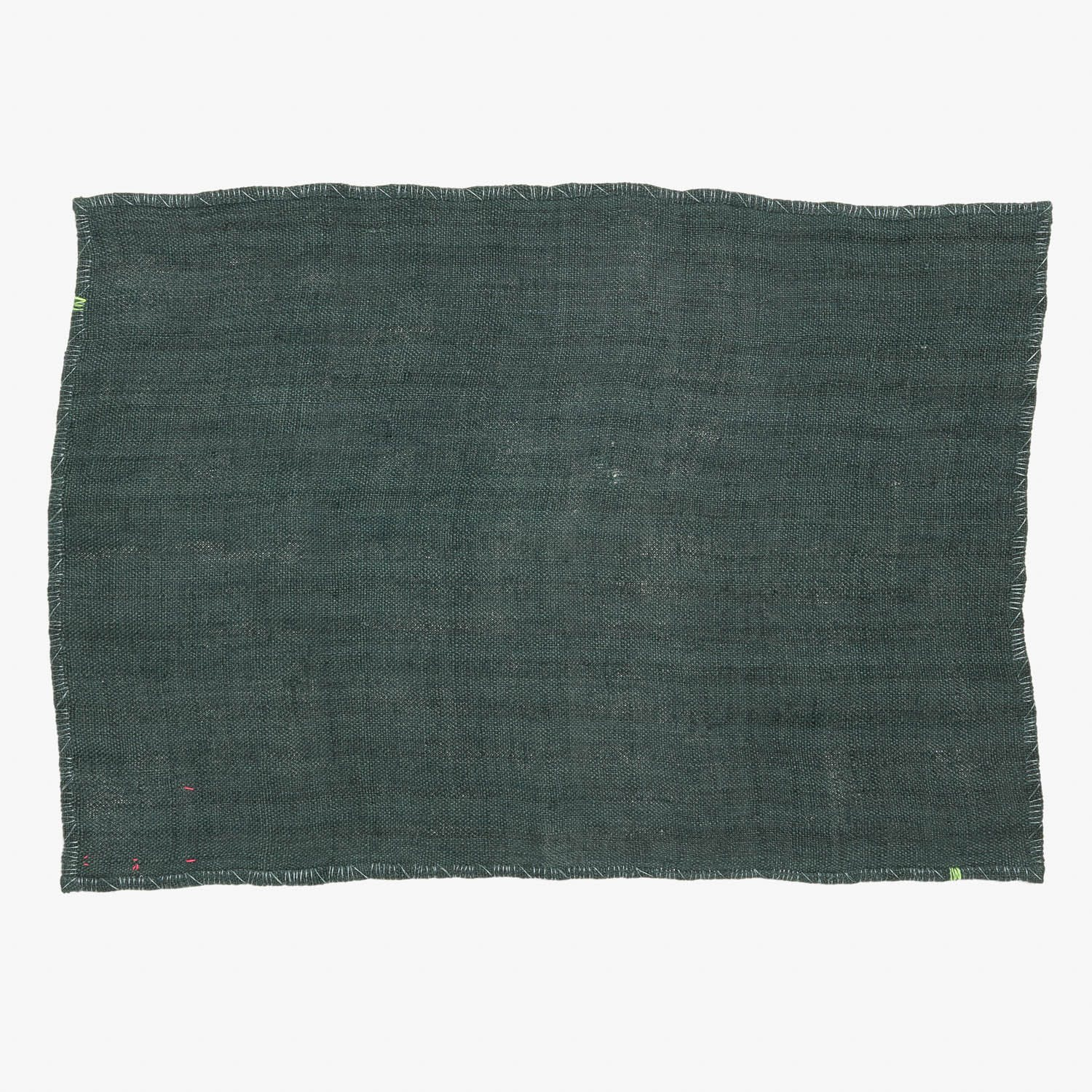 abcDNA Glo Linen Placemat Spruce