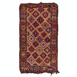 Product Image - Antique Qashqai Rug - 4'x7'