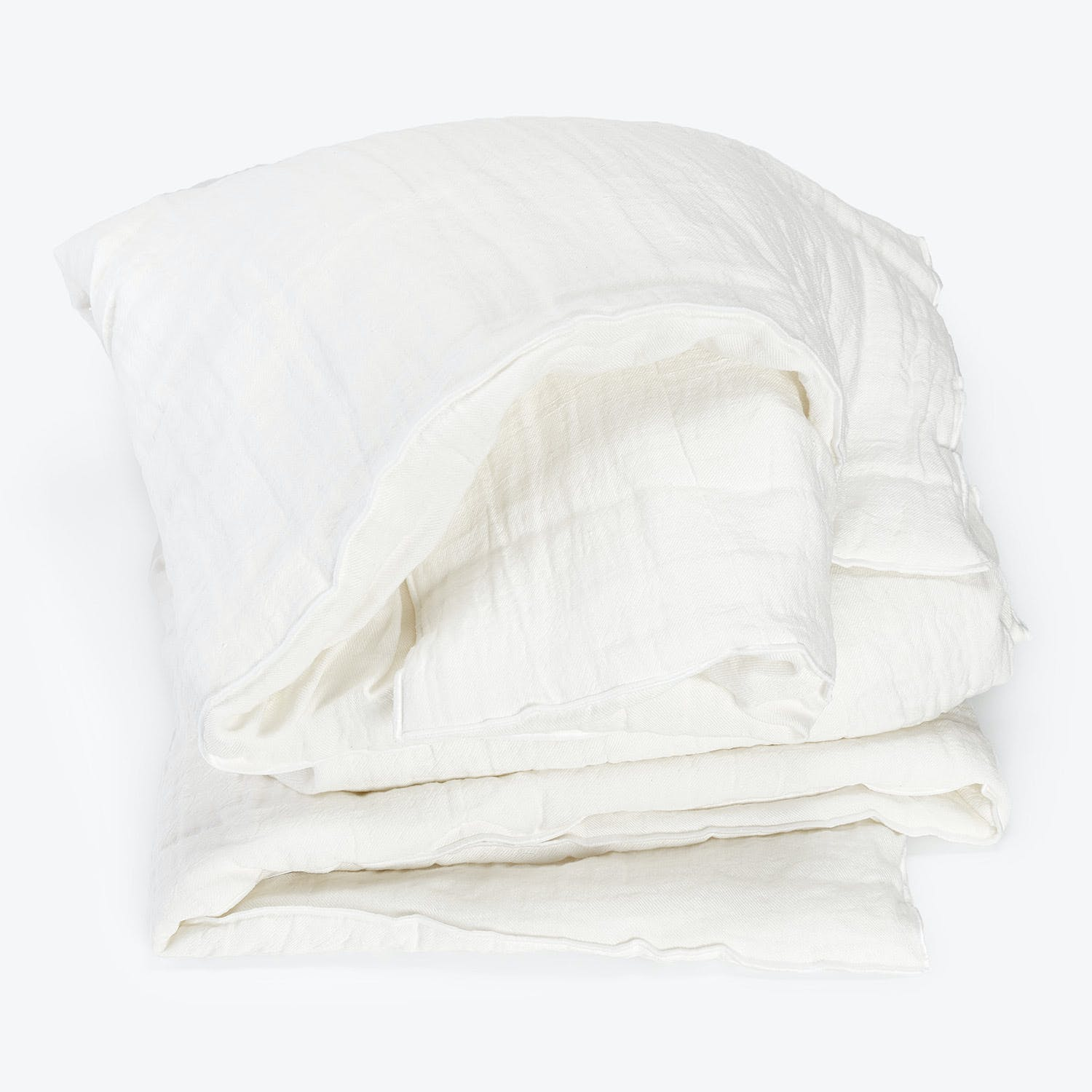 Product Image - Washed Linen Throw Ecru