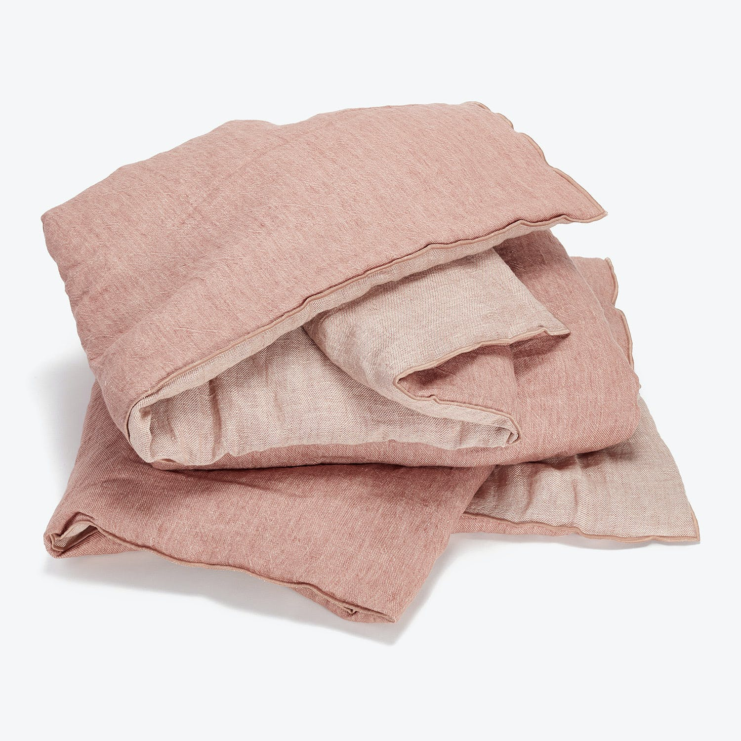 Product Image - Washed Linen Throw Rose