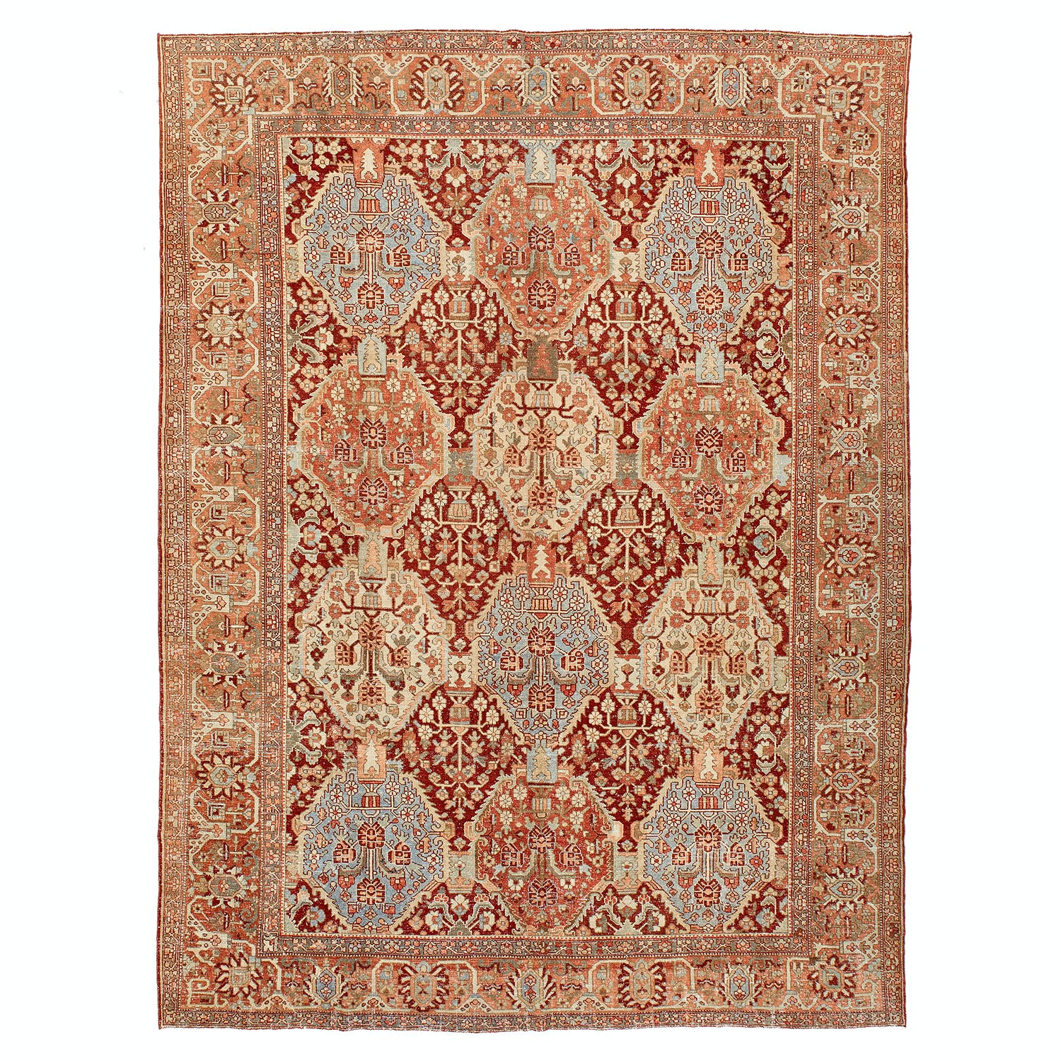Product Image - Antique Bakhtiari Rug-12'x16'
