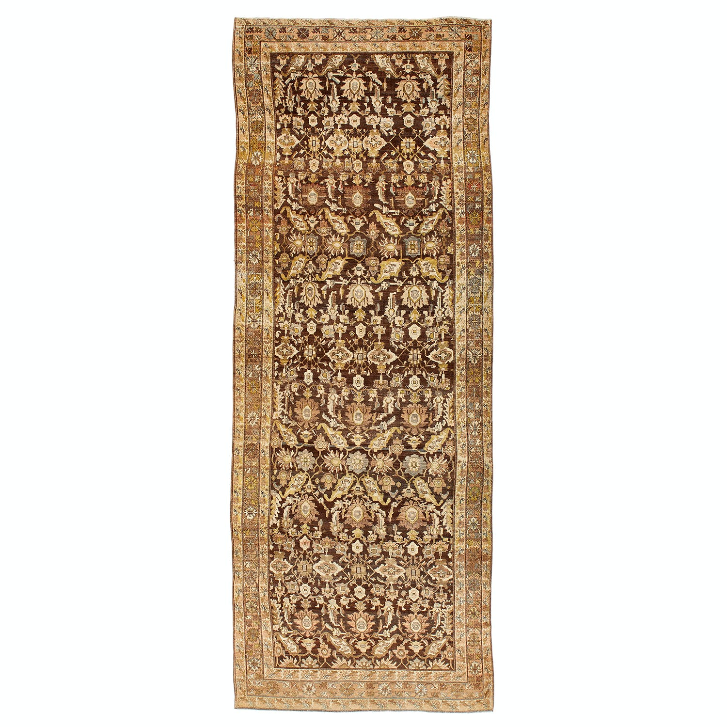 Product Image - Antique Farahan Rug -7'x19'