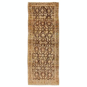 Product Image - Antique Sabideh Rug - 7'x19'