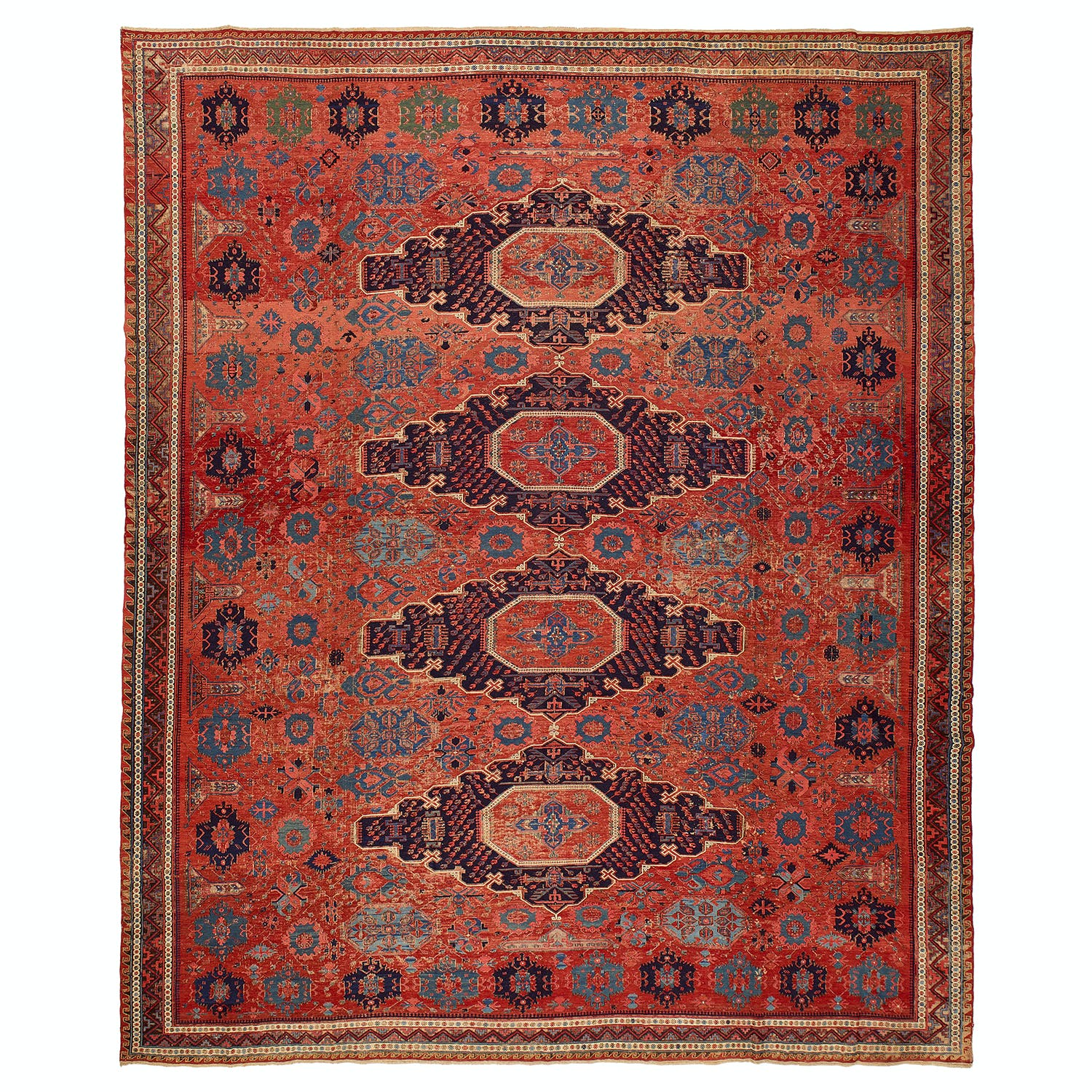 Product Image - Antique Soumak Rug- 13'x15'