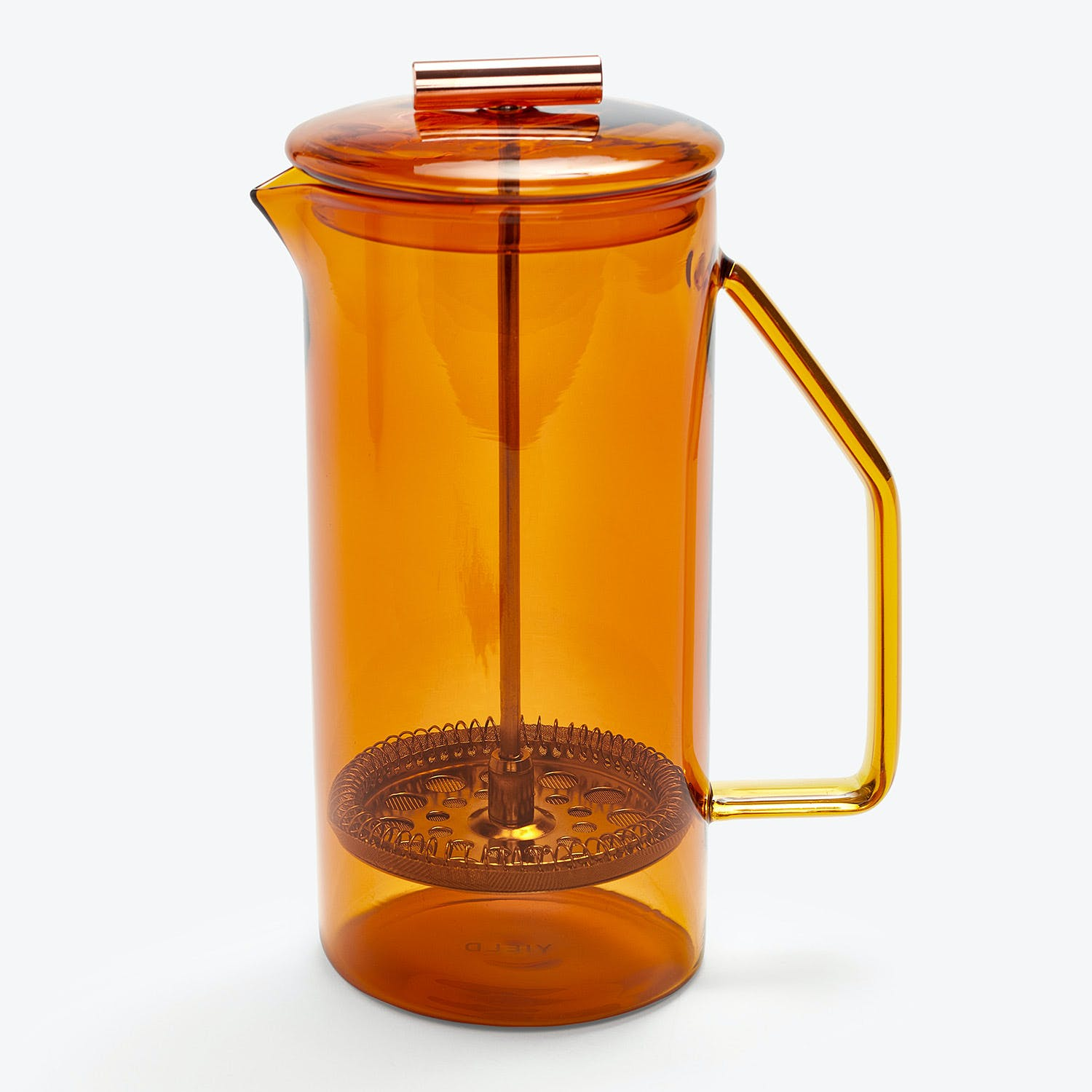 Product Image - Glass French Press Amber