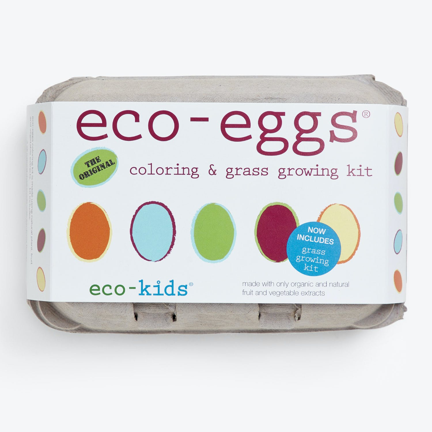 Eco Egg Coloring & Grass Growing Kit
