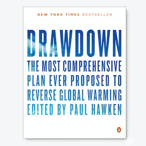 Product Image - Drawdown: The Most Comprehensive Plan Ever Proposed to Reverse Global Warming By Paul Hawken