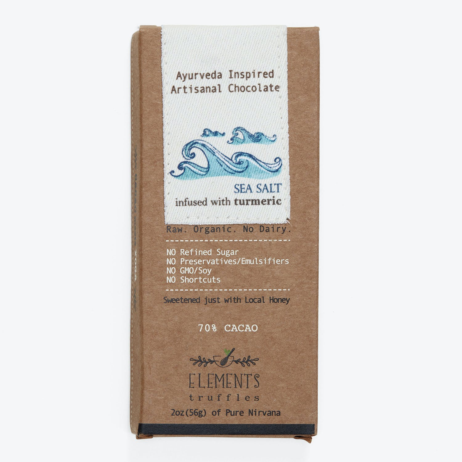 Product Image - Chocolate Bar Seasalt Turmeric