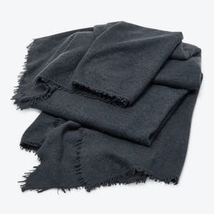 Product Image - Om Cashmere Throw Baby Seal