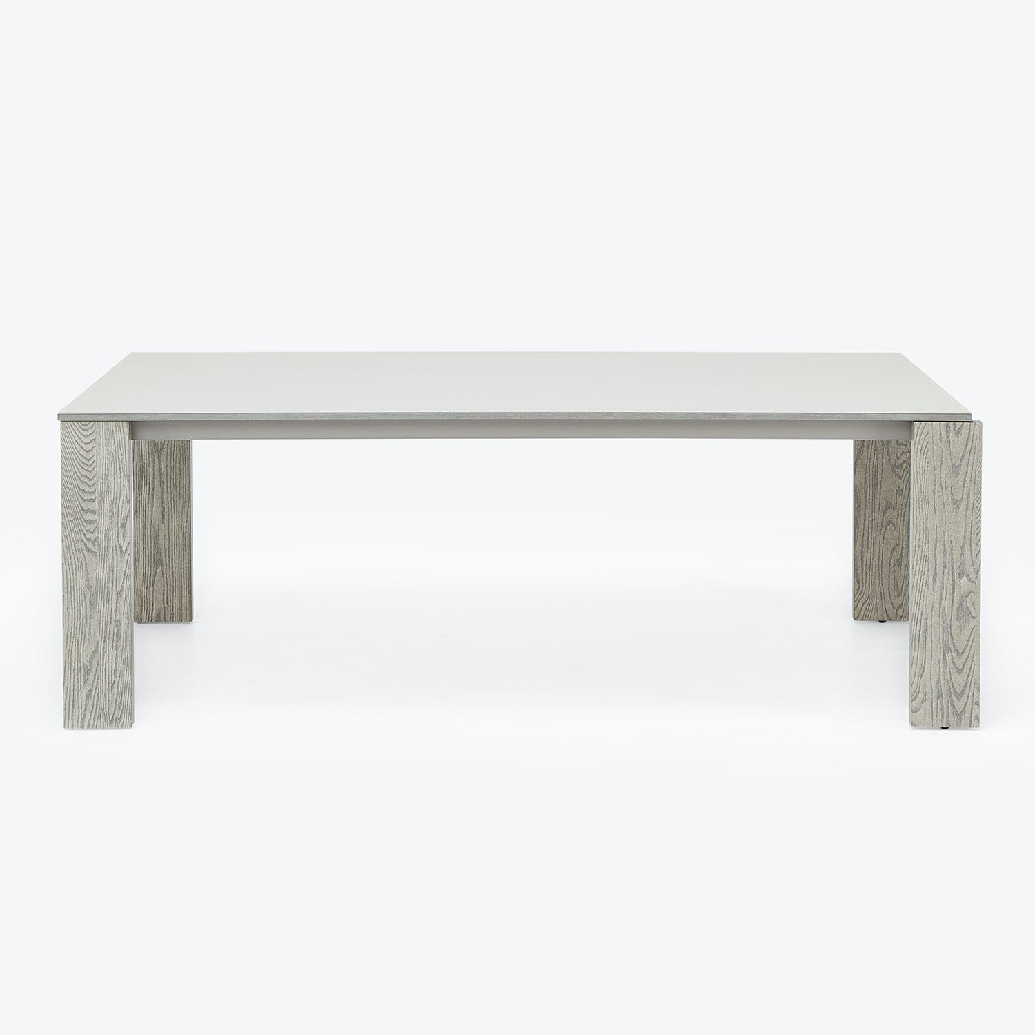Product Image - Gallerist Oak & Glass Dining Table