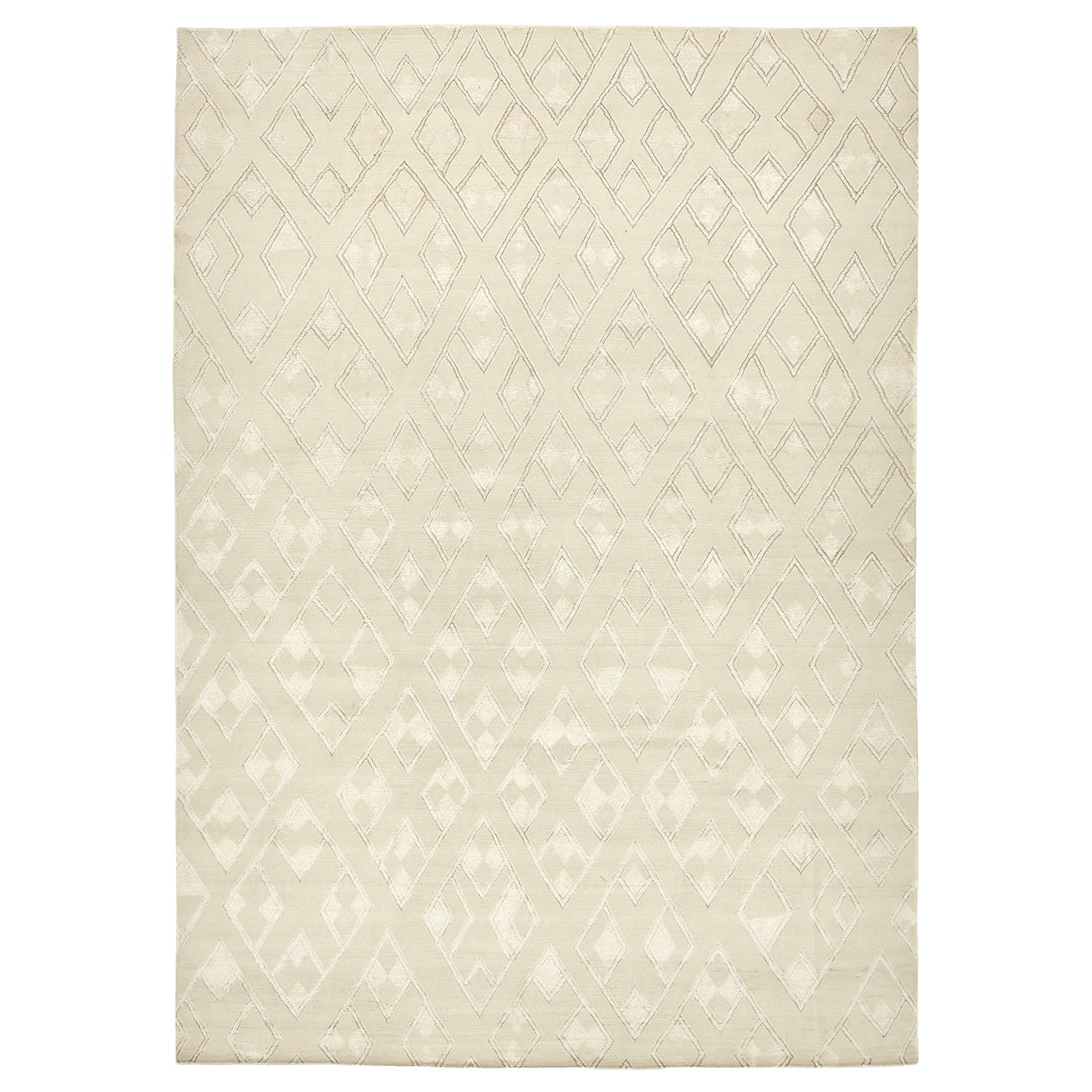 Contemporary Wool Rug - 10'x14'