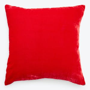 Product Image - Luminous Velvet Pillow Poppy