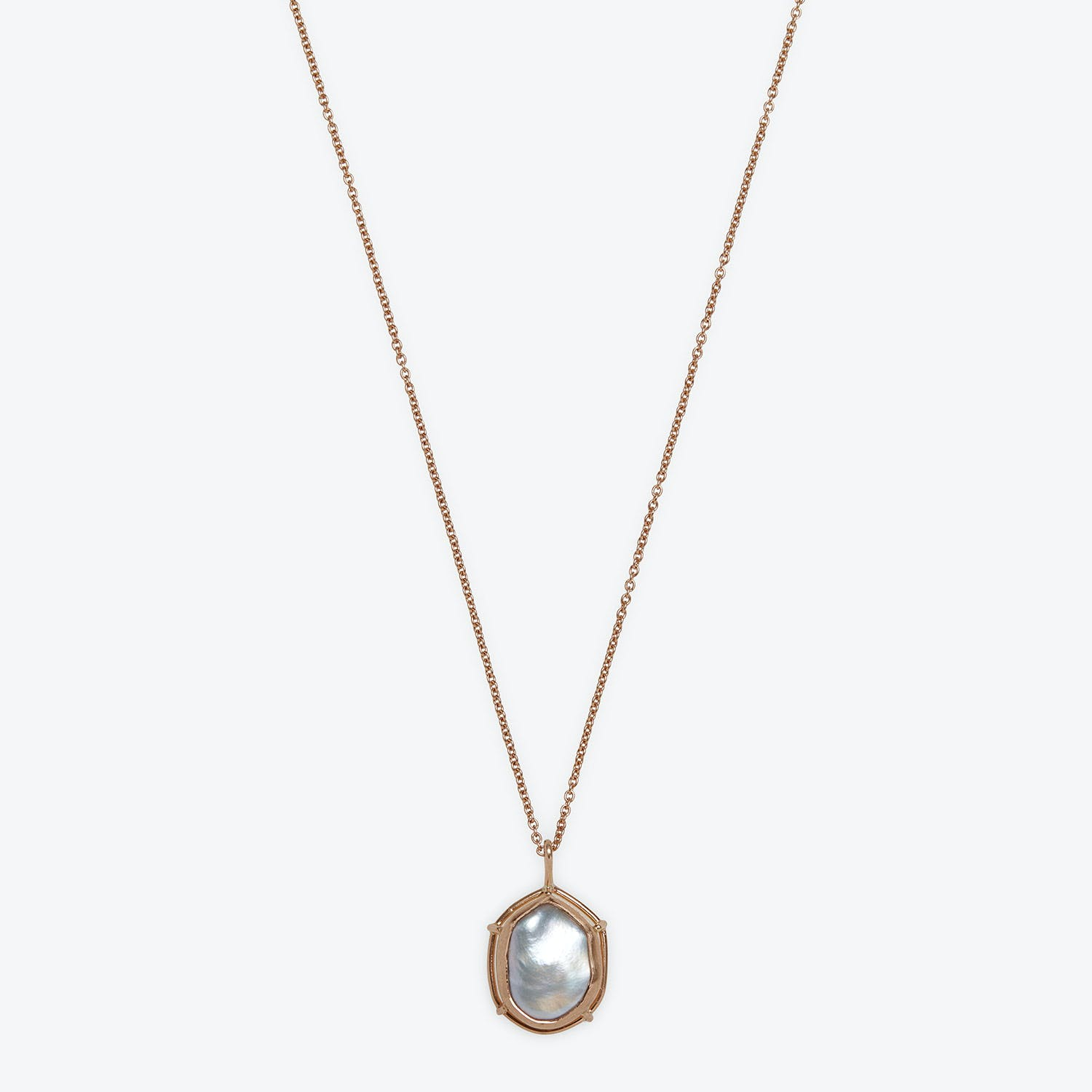 Product Image - Pearl Pendant Necklace