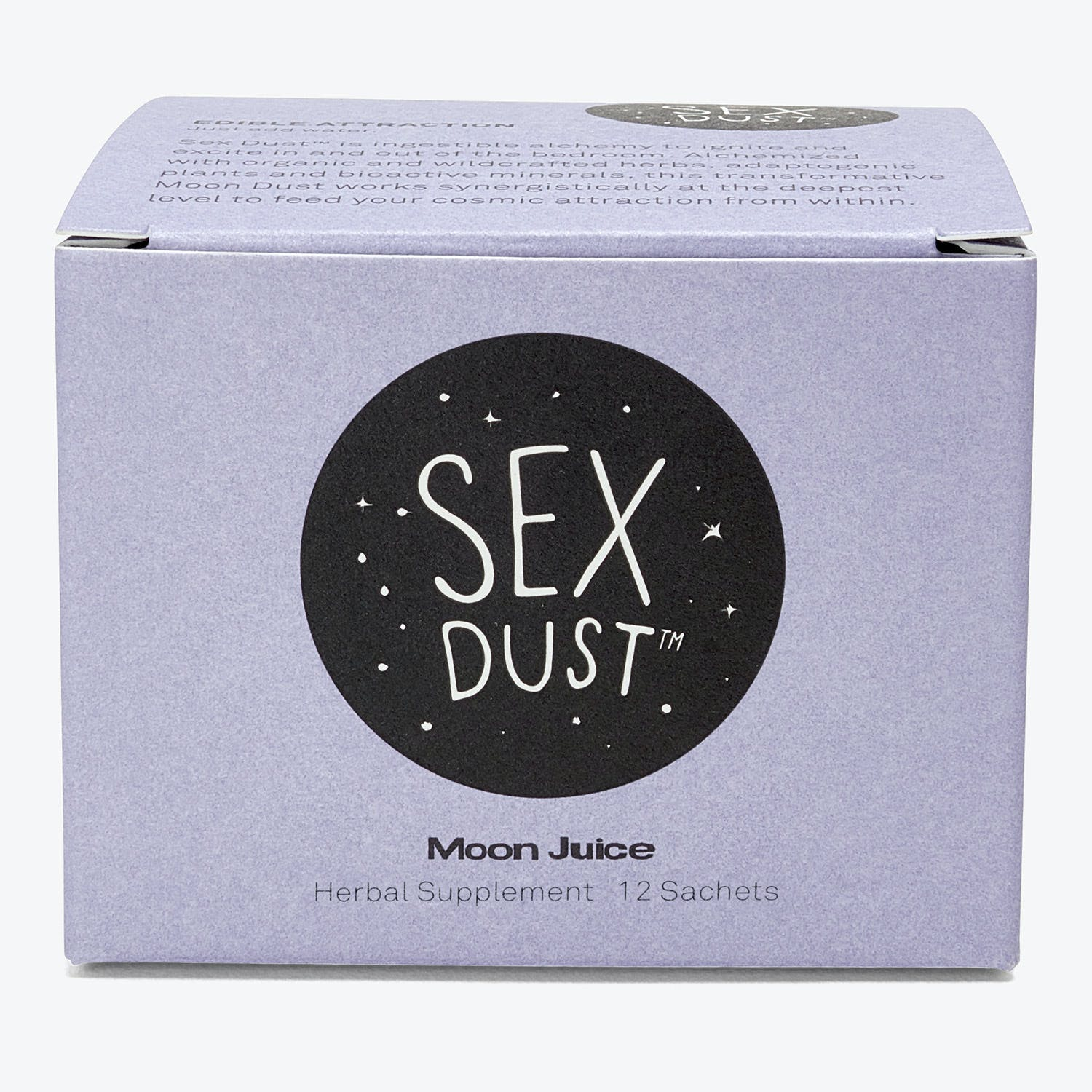 Product Image - Moon Juice Sex Dust Sachet Box