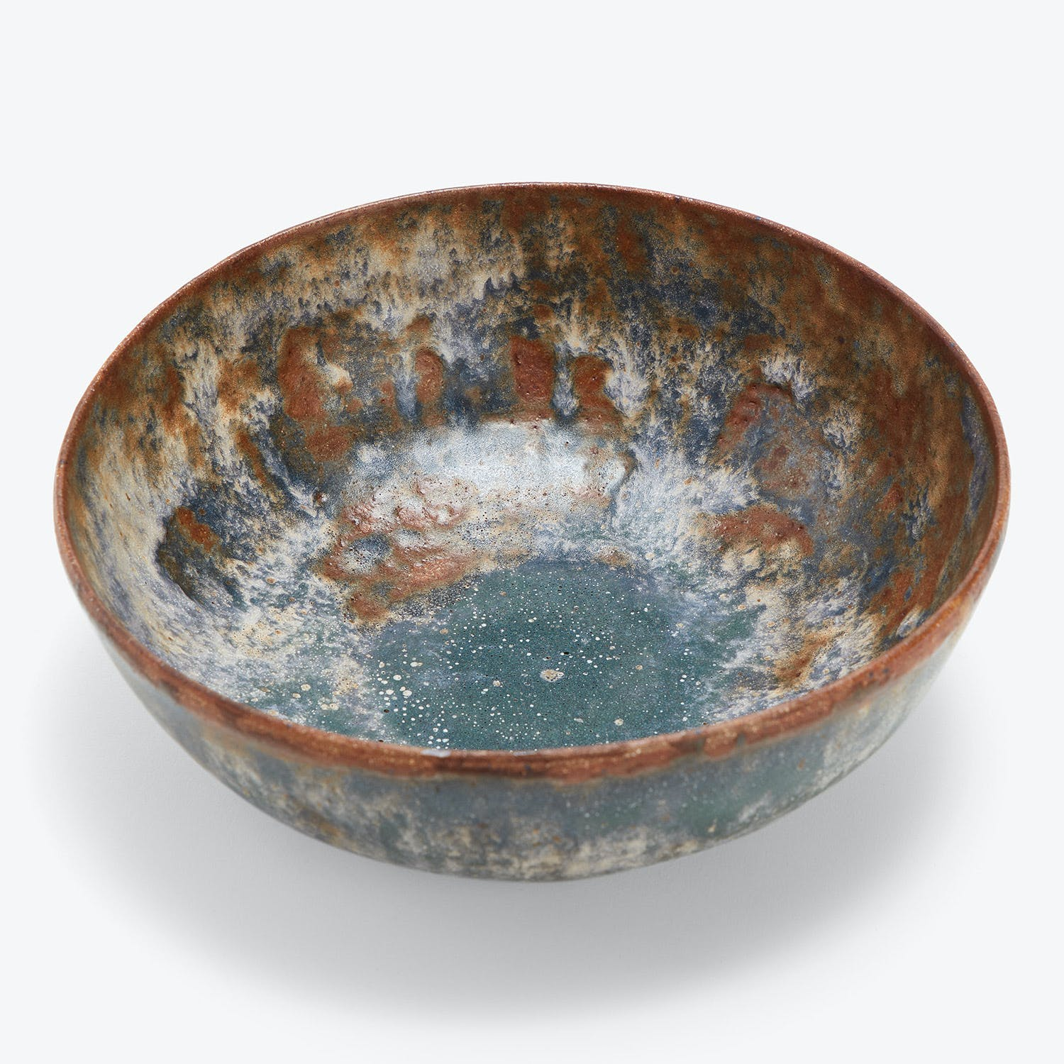 Terra Coll Clayworks Bowl Frosted Green