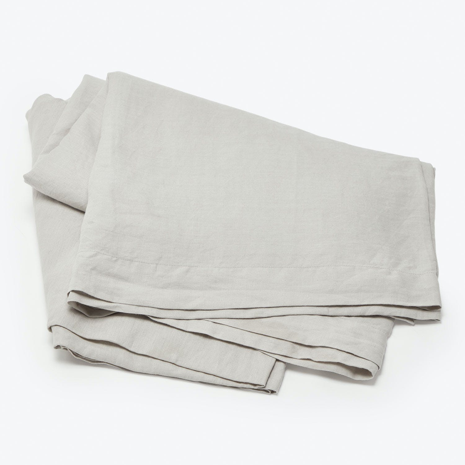 Product Image - Linen Fitted Sheet Smoke