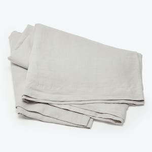 Product Image - Linen Flat Sheet Smoke