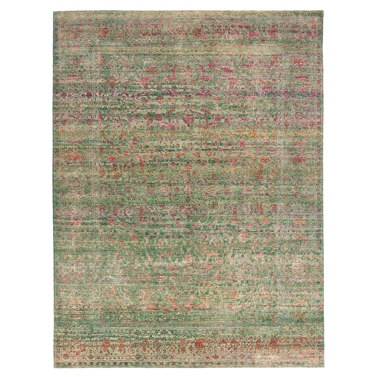 "Alchemy Silk & Wool Rug - 8'11""x11'9"""