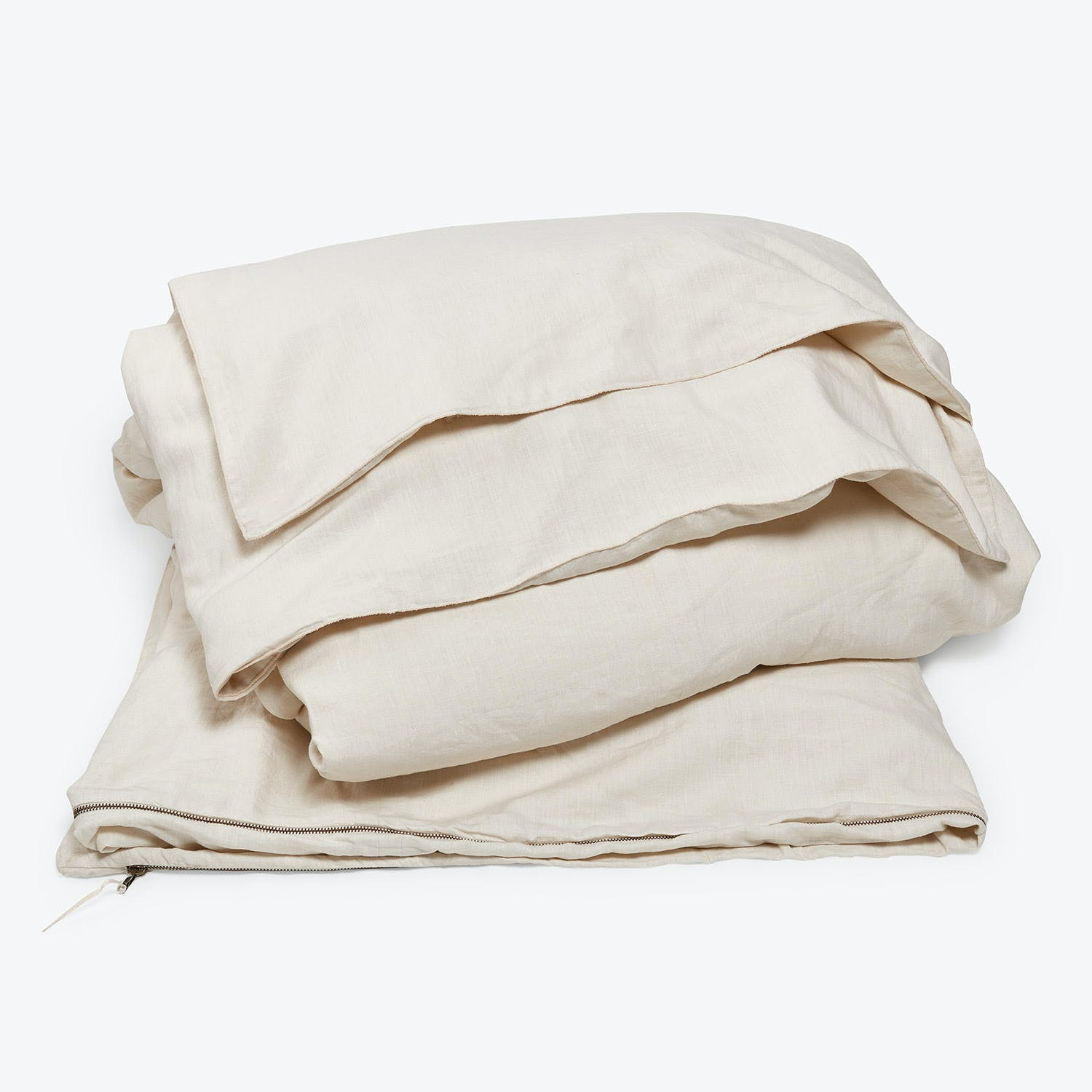 Product Image - Glo Linen King Duvet White