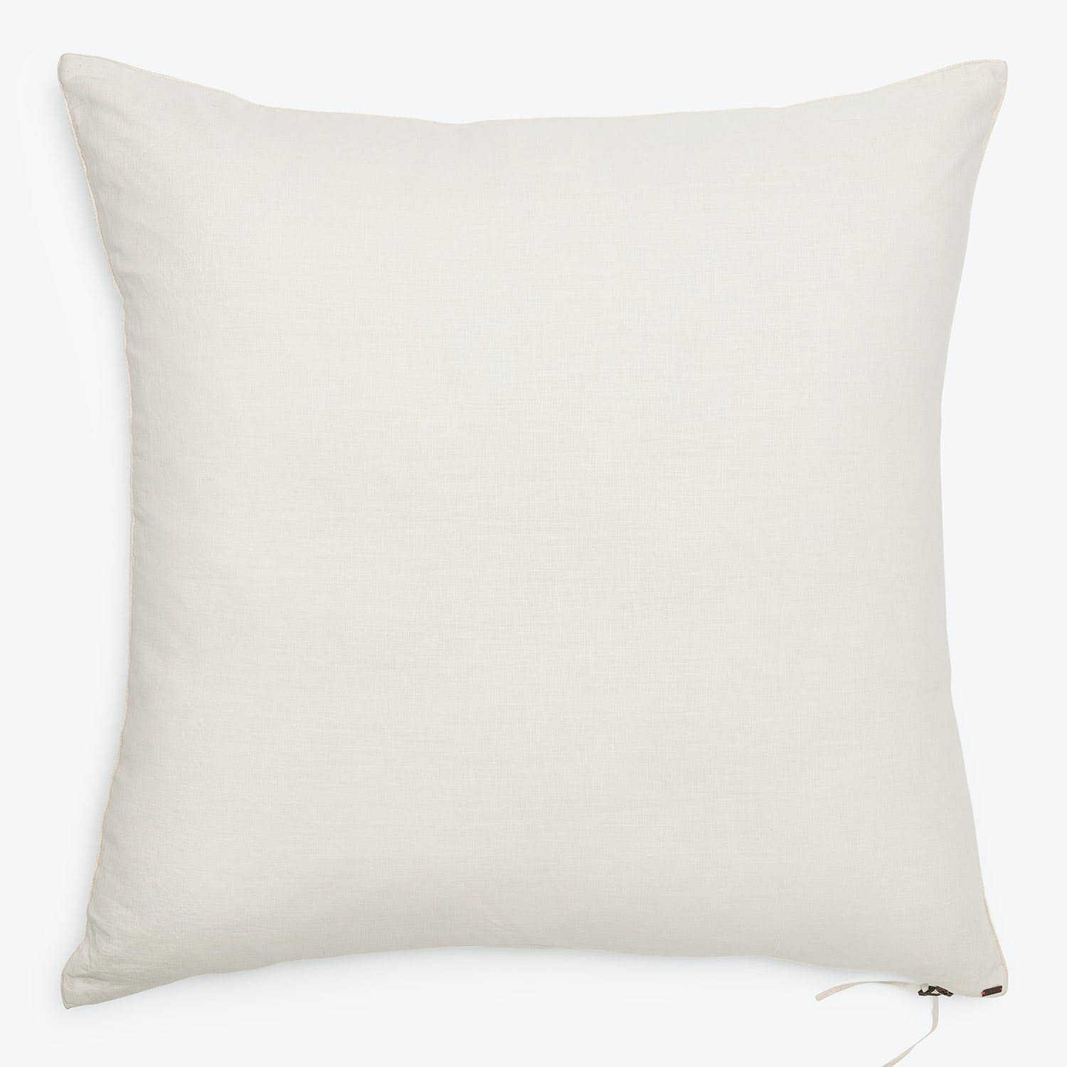 Glo Linen Euro Sham White Abc Home